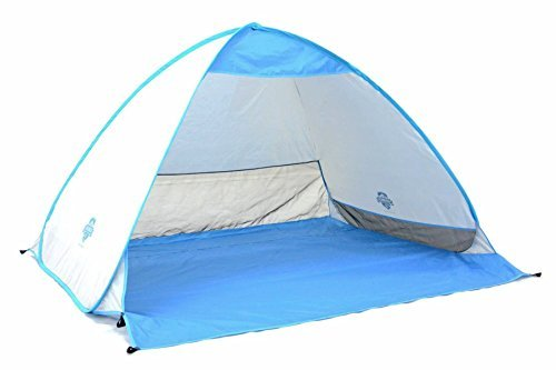 Pocket Shade 50x66x72-Inch Pop Up Canopy, Blue