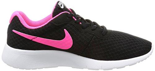 NIKE Kids Tanjun (GS) Black/Hyper Pink White Running Shoe 4 Kids US by Nike (Image #9)