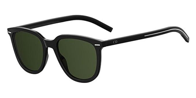 d3561da7490675 Christian Dior - Lunettes de soleil - Homme Noir Black Green Taille Unique