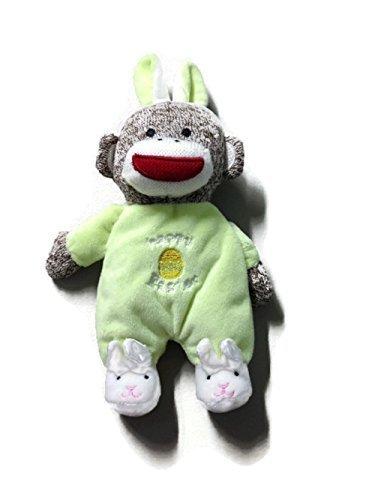Baby Starters Plush Monkey Happy Easter (Happy Easter Basket)