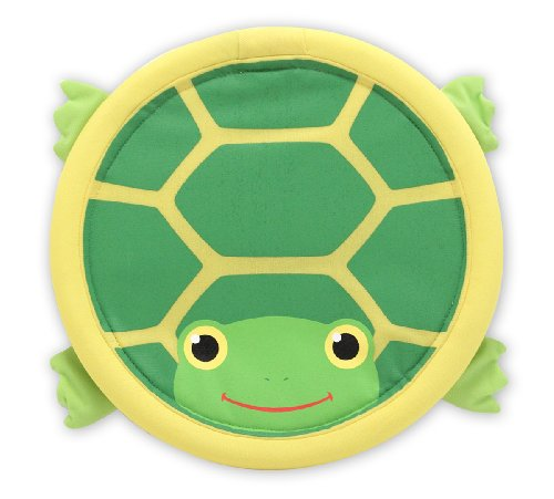 Melissa & Doug Sunny Patch Tootle Turtle Flying Disk (Tootle Turtle)
