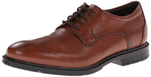 Rockport Mens City Smart Plain-Toe Derby Shoe Tan