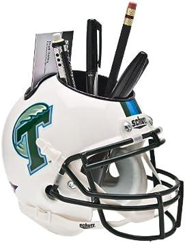 Schutt NCAA Tulane Green Wave Football Helmet Desk Caddy