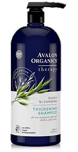 Avalon Organics Thickening Shampoo Biotin B-Complex Therapy -- 32 fl oz