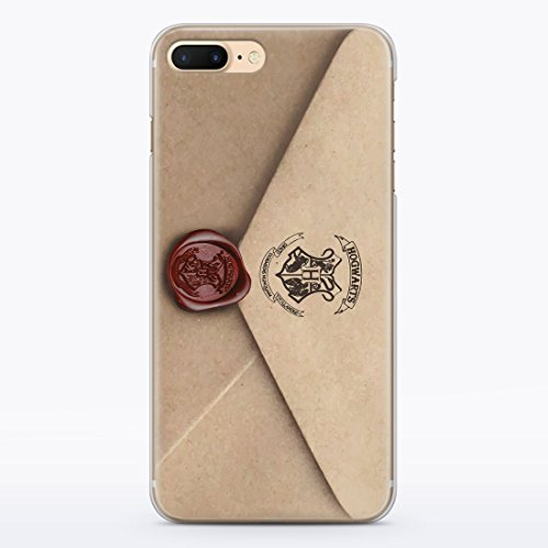 best authentic 9a869 4c998 ZIZZDess Harry Potter Hedwing Owl Hogwarts Letter Case For Apple iPhone 7  Protective Case Clear Transparent Silicone Flexible Design Cool Art Cover  ...
