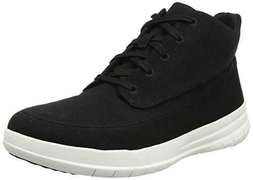 Black Herren Sneaker Sporty Pop FitFlop Canvas High Schwarz ZpBqwa