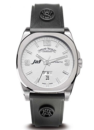 armand-nicolet-9650a-ag-g9660-mens-j09-automatic-black-rubber-silver-tone-dial-watch