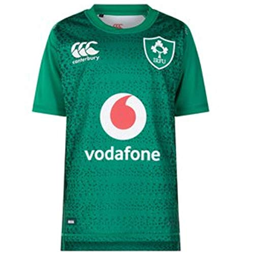 (Canterbury Ireland Home Classic Rugby Jersey, Bosphorus Marl, 3X-Large)