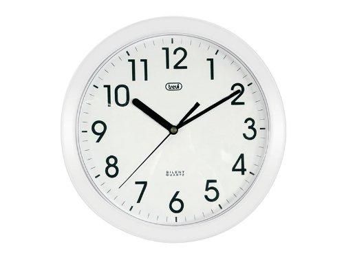 194 opinioni per Trevi OM 3301- Orologio da Parete- Quarzo silenzioso – 25cm – Bianco
