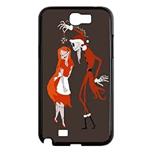 Samsung Galaxy Note 2 7100 Black Cell Phone Case The Nightmare Before Christmas LWDZLW2308 Phone Case Cover Customized Unique