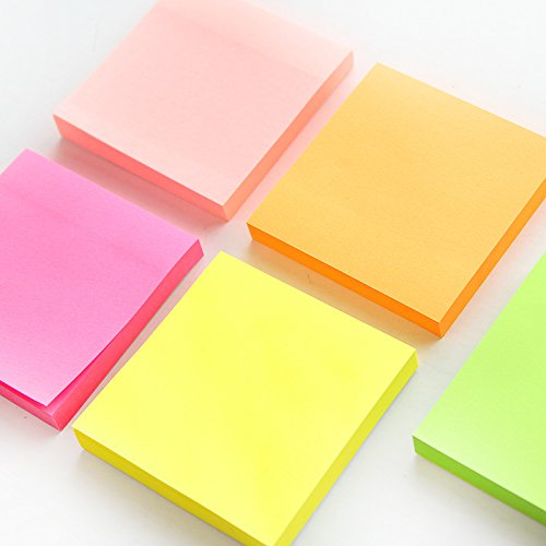 5 pcs/Lot Macaron color sticky note set Mini post adhesive paper memo it tag Stationery Office accessories School by Office & School Supplies YingYing (Image #2)