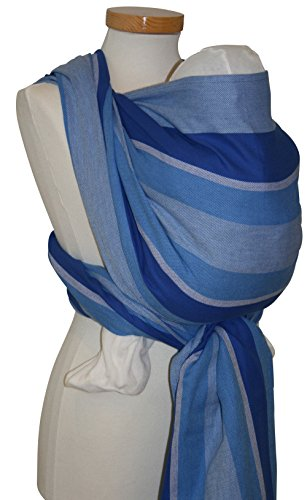 Storchenwiege Baby Wrap (Organic) Woven Cotton Baby Carrier From Germany (2.7, Eric)
