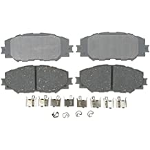 ACDelco 14D1210CH Advantage Ceramic Front Disc Brake Pad Set with Hardware