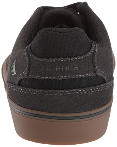 nero gum Dark Scarpe Emerica black us 6102000096 Frauen Uomo Da Grey Grigio Skateboard Scuro wTxUZqv0nO