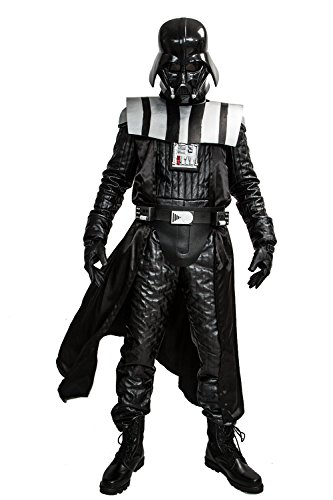 Darth Vader Master Replica Costume (Deluxe Men's Darth Vader Costume for Halloween Cosplay XXL)