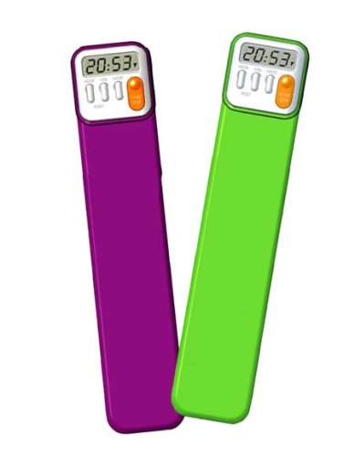 Mark My Time Book Mark And Digital Timer 2 Pack