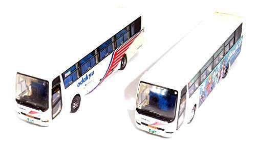 (Basukore) two set Odakyu Hakone Highway Bus Bus Bus Rebuild wrapping bus service memorial set (TOMYTEC Odakyu) [Limited] The Bus Collection (Rebuild of Evangelion: Q) (japan import) a5ff7f