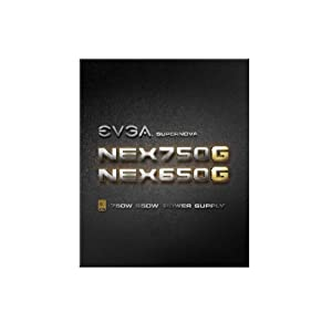 EVGA SuperNOVA 650 G1, 80+ GOLD 650W, Fully Modular, 10 Year Warranty, Includes FREE Power On Self Tester Power Supply 120-G1-0650-XR