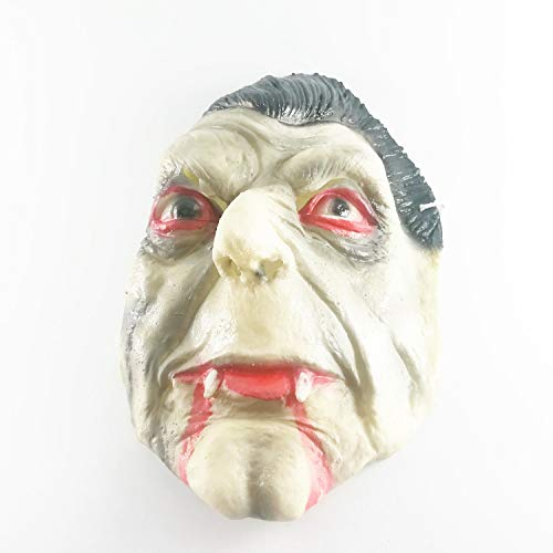 Good friend 62 Vintage Old Man Monster Mask Ugly Halloween Scary Latex Head Face -