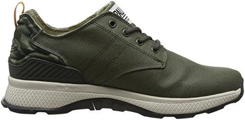 Jungle Uomo Verde Axeon Olive Low Night Camo Palladium M60 Sneaker Bw14O0