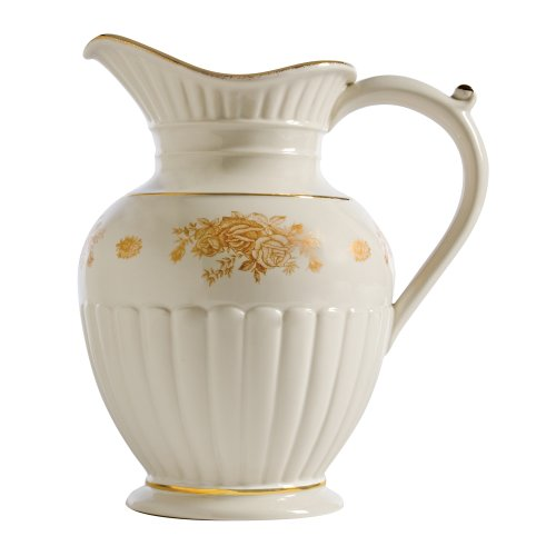 Royal Albert Old Country Roses Gold Fluted Pitcher Old Country Roses Gold Fluted