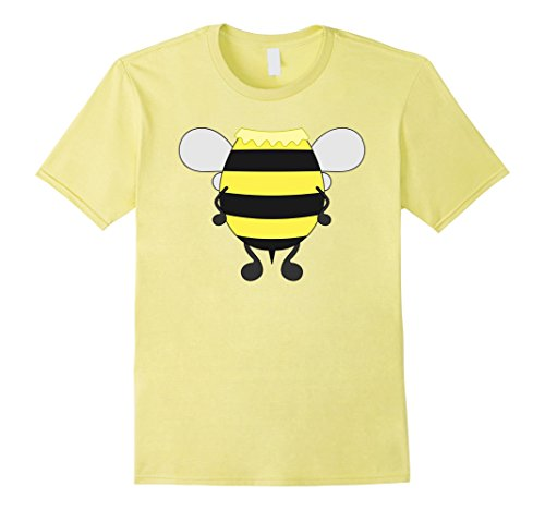 Toddler Honey Lemon Costume (Mens Funny Honeybee Costume Shirt - Hilarious Bee Halloween Gift 2XL Lemon)