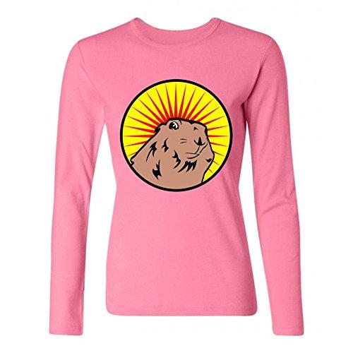 xingl-womens-prairie-dog-dramatic-chipmunk-design-long-sleeve-cotton-t-shirt
