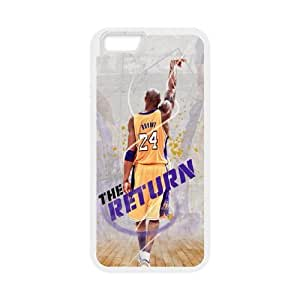 Generic Bryant Kobe TPU Cell Phone Cover Case for iPhone 6 Plus,6s 5.5 Inch AS1W9049267-Send tempered glass screen protector