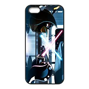 iphone5 5s phone cases Black Angry Birds Starwars cell phone cases Beautiful gifts PYSY9392921