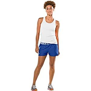 """Under Armour Womens Play Up 3"""" Short Bottoms Extra Large Royal Blue"""