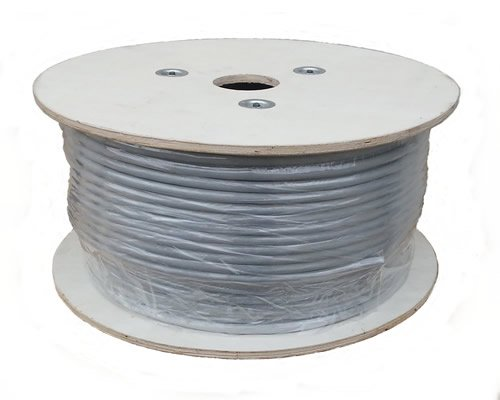 1500 Cable (Sunnytech CAT7A 500ft S-FTP LSZH, 1500MHz 10GBase-T Data, Solid 22AWG Installation Cable, Bulk Pack(w/20 Pack Cat7A Plug, 20/Boot Cap and 2x10GBit Keystone Free))