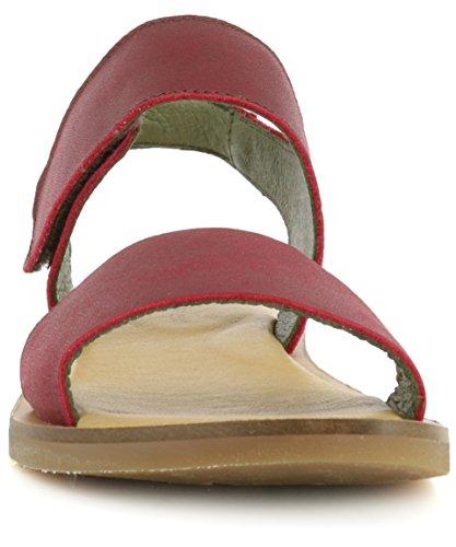 NF30 IBON Rioja/Tulip Red Woman 36 Sandals Velcro Y0lnAh