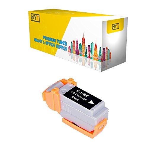 New York Toner New Compatible 1 Pack BCI-11BK Black High Yield Inkjet For - BJCAN-70 . -- - Inkjet Bci 11bk