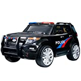 Best Electric Car For Kids - Uenjoy 12V Kids Police Ride on Car Electric Review