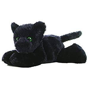 "aurora onyx black panther 8"" mini flopsie plush beanbag - 41lwkNBkpQL - Aurora World 8″ Onyx"