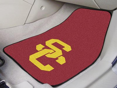Fanmats USC Trojans Carpeted Car Mats