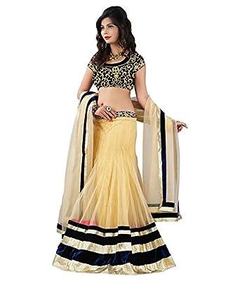 84e36fbc2e8e New Designer Anuradha Lehenga Black & Off white: Amazon.in: Clothing &  Accessories