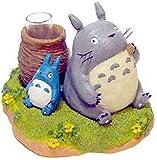 ジブリがいっぱい♪ 一輪挿し【ひとやすみ】ジブリの代表アニメ となりのトトロ♪トトロ達がみーんな仲良く一休み,とっても可愛いですね♪ 01376