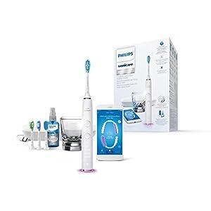Philips Sonicare HX9924/03 DiamondClean Smart, Spazzolino Elettrico con Tecnologia Sonicare, Connesso all'App, 4… 8