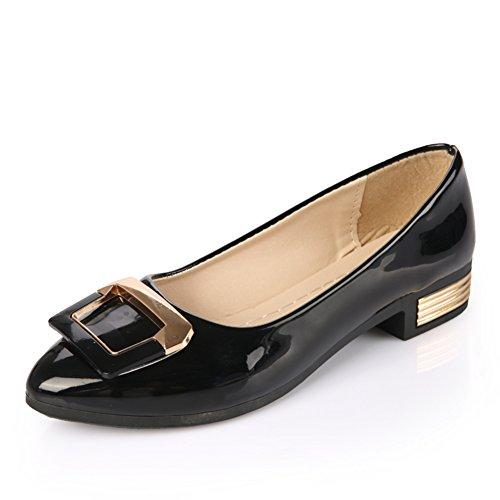 moda mujer zapatos planos/Shui TOU taladro superficiales zapatos de suela suave/Zapatos de tacón plano C
