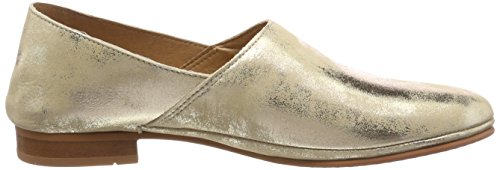 Mujer Mocasines Points Para Dorado 613 Toulouse New gold Ten gtdxUqXt