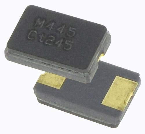 Pack of 100 Crystals 25MHz //-20ppm 18pF 20C 70C 445C25D25M00000