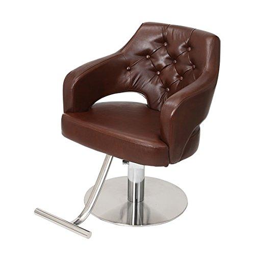 柔らかな質感の < エトゥベラ > イス スタイリングチェア ラグジュアリ カットチェア XP-663 < キャメルブラウン [ チェア 椅子 イス セットチェア セット椅子 セットイス カットチェア カット椅子 カットイス 美容室椅子 美容室 美容師 ] B00P0JO3PE ダークブラウン ダークブラウン, Interiorshop COZY:7ca58089 --- mrplusfm.net