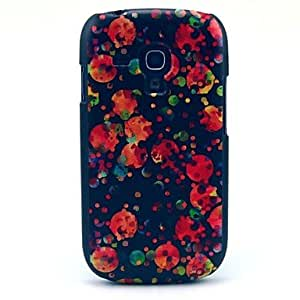 Red Jellyfishes Pattern Hard Case for Galaxy S3 Mini I8190
