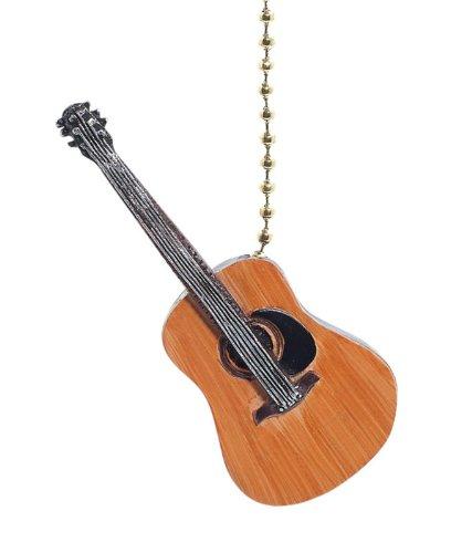 Price comparison product image Acoustic Guitar Fan Pull Decorative Light Chain
