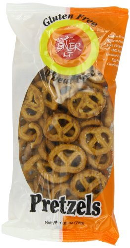 Ener-G Foods  Wheat-Free Pretzels, 2.65-Ounce Bags (Pack of 20)