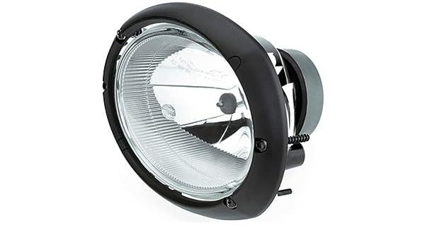 HELLA Halogen Black Headlight Left=Right 1AB996157-091