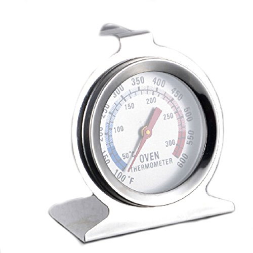 Aga Cookers - Unigds Stainless Steel Oven Thermometer Temperature Gauge for Pizza AGA Cooker