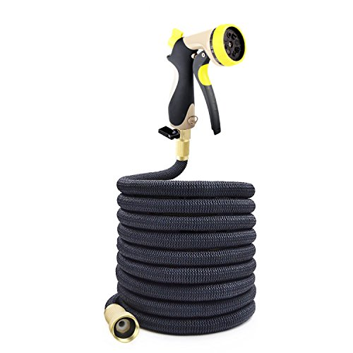 Podura Garden Hose 100Ft Black