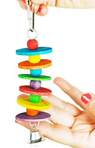 Parakeet Toys And Accessories : Mini disc bonka bird toy parrot cage toys cages